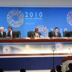 جلسات سالانه بانک جهانی و صندوق بین المللی پول در واشنگتن